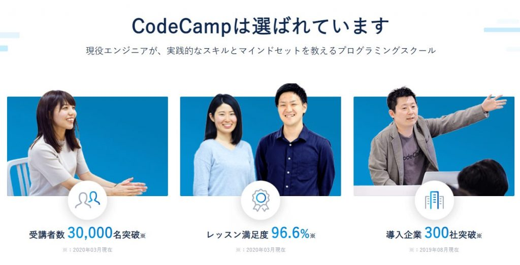 コードキャンプの無料体験