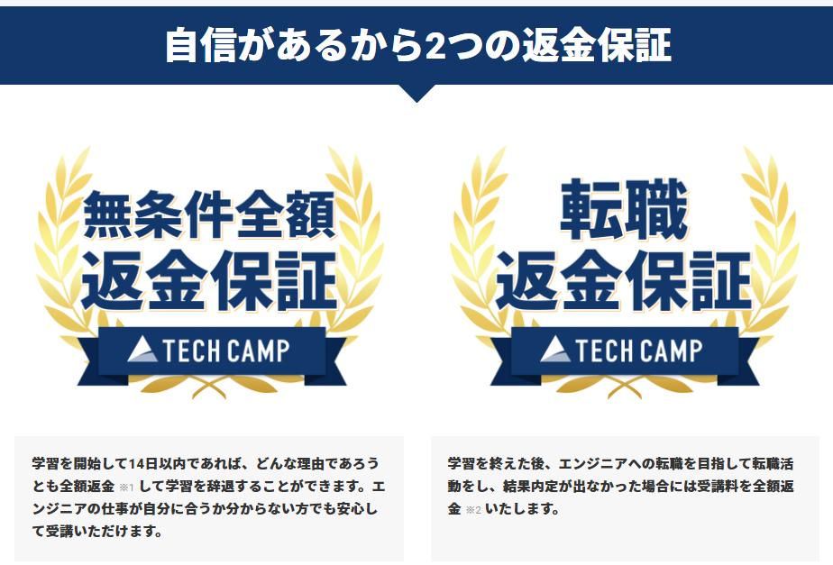 テックキャンプ『エンジニア転職コース』の無料カウンセリング